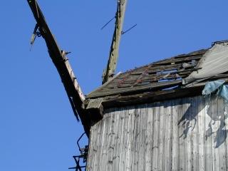 Mühle Detail Dach